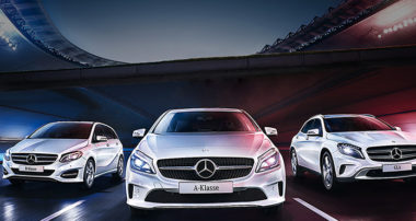 Три Mercedes-Benz