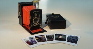 камера Jollylook — новый фотоапарат для мгновенных фото