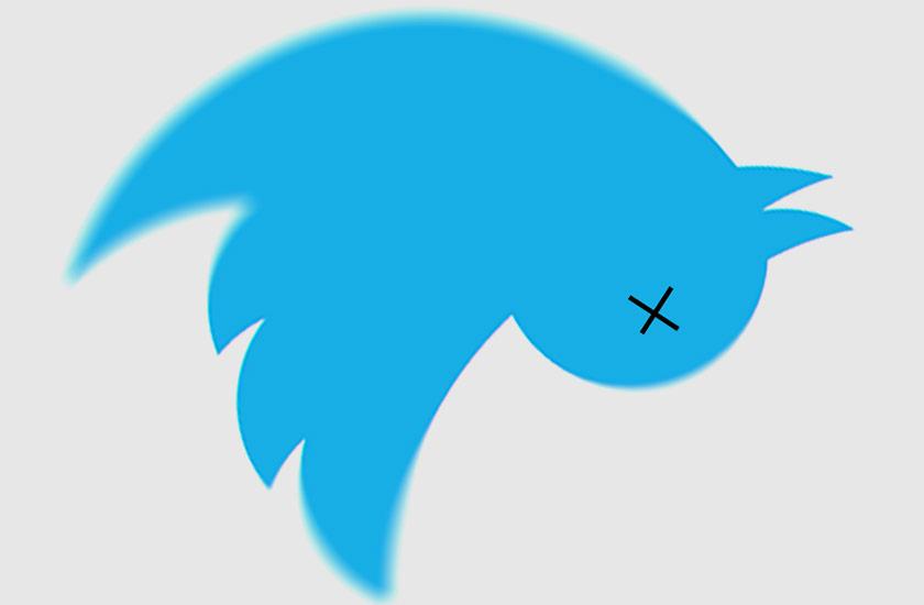 мертвый твиттер
