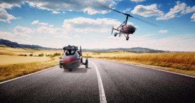 Привет будущее: летающий автомобиль