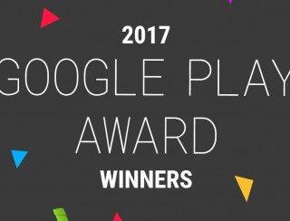 Результаты премии Google Play Awards 2017