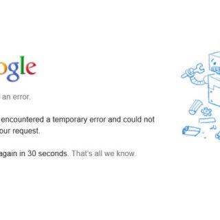 5 ошибок Google