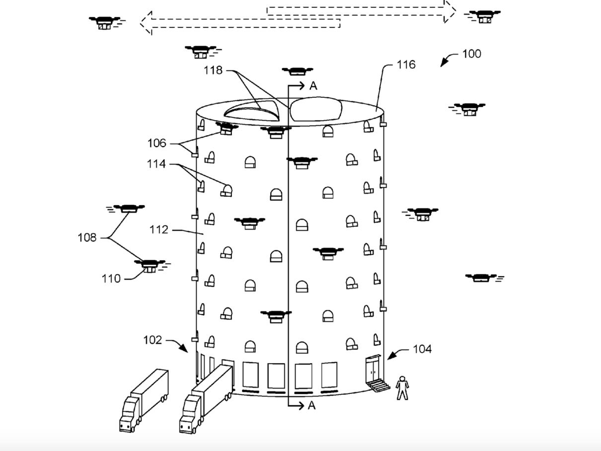Башня для дронов
