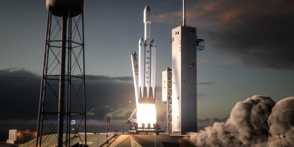 Запуск Falcon Heavy і Tesla летить на Марс
