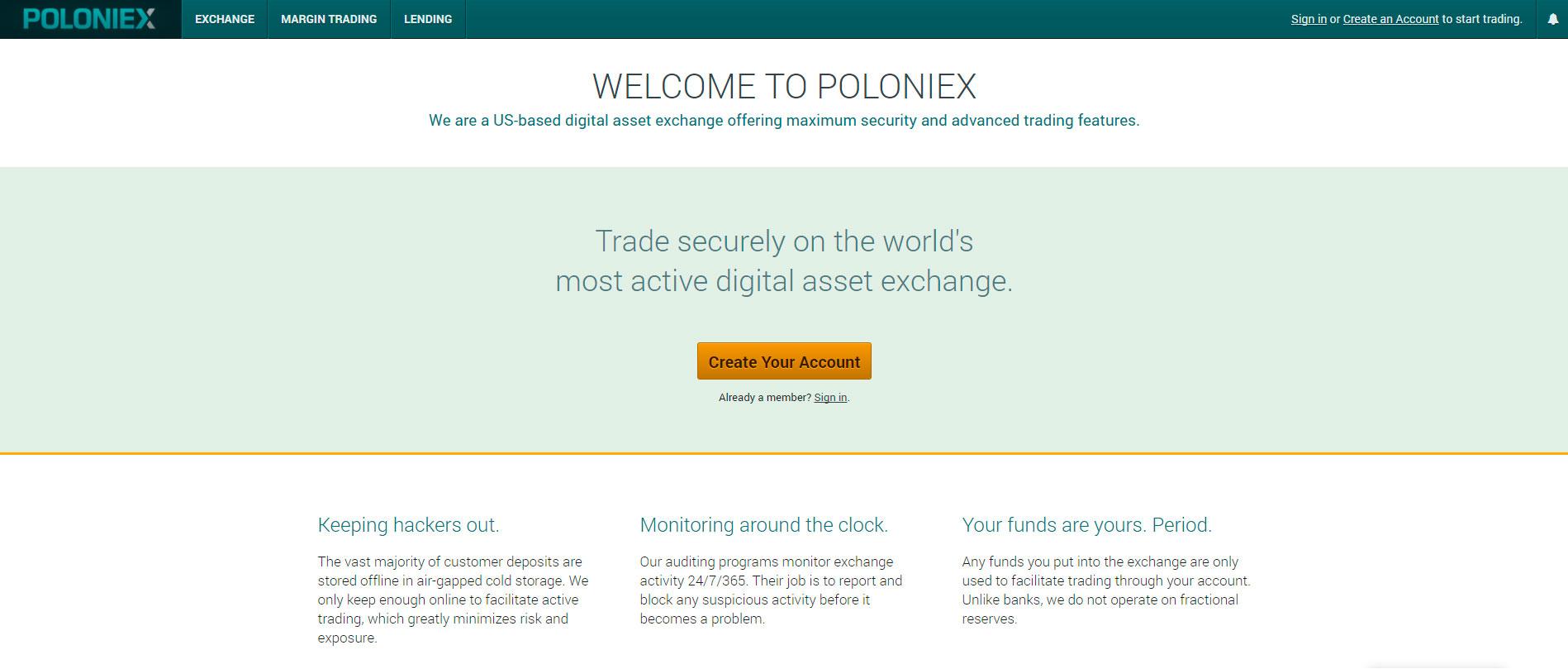 Полоникс биржа крипты