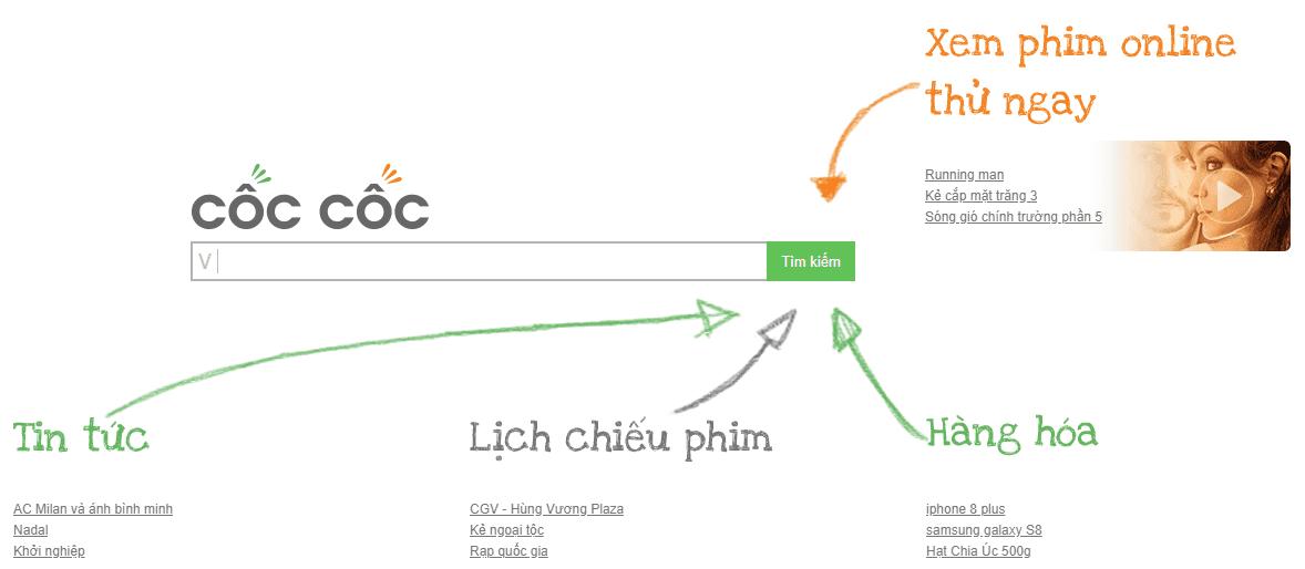 Вьетнамская поисковая система КокКок