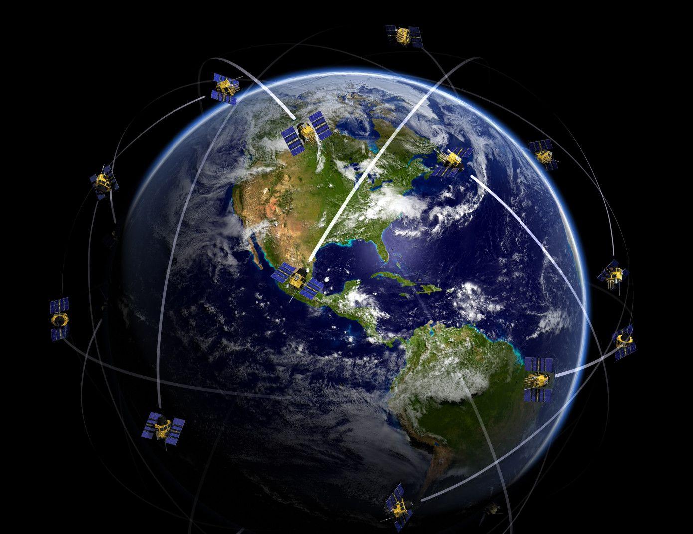 SpaceX связь Starlink