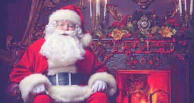 Рождественские ролики с Сантой