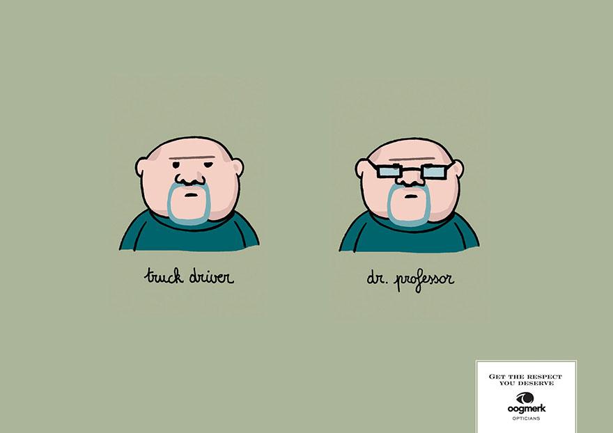 Креатив и очки