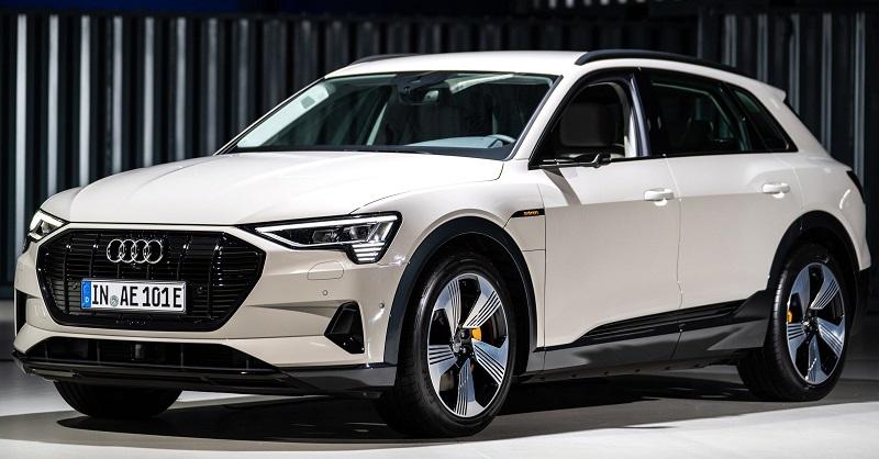 Электромобиль Audi-E-Tron