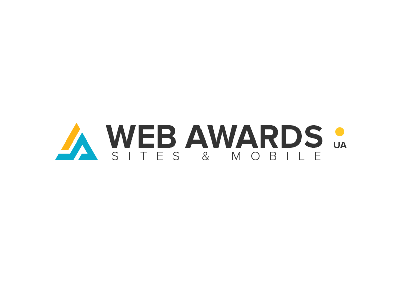 Competition sites WEB AWARDS UA