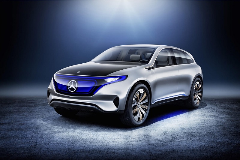 Mercedes-Benz EQ электрокар