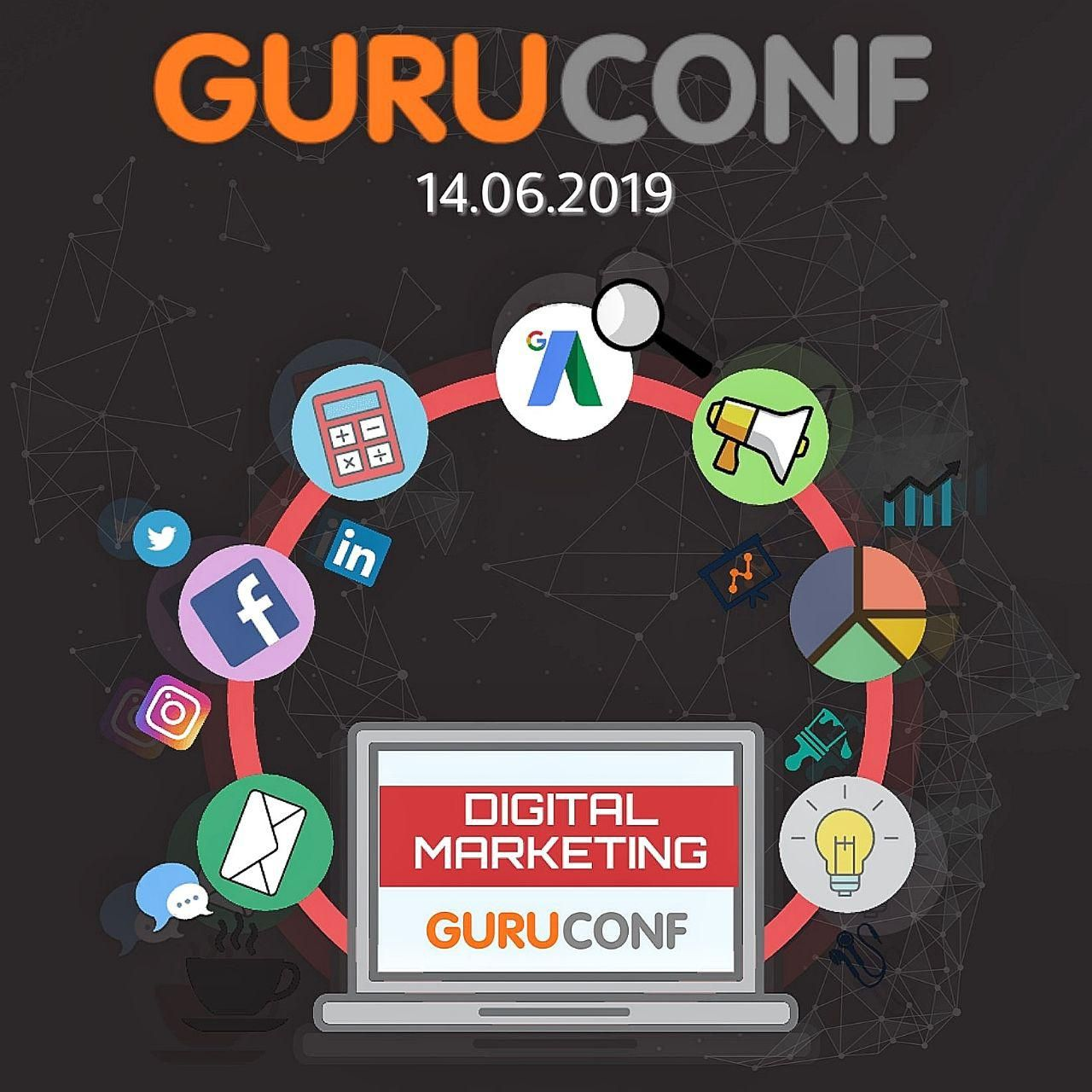 GuruConf — масштабная конференция о Digital Marketing