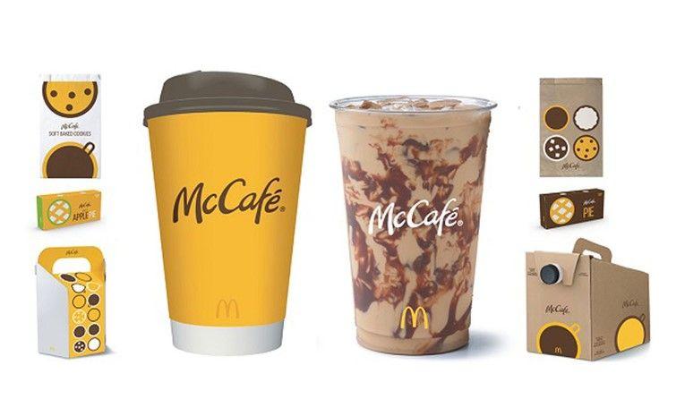Чашки McCafé для горячих напитков