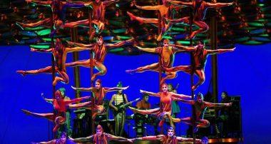 Цирк cirque du soleil в Украине