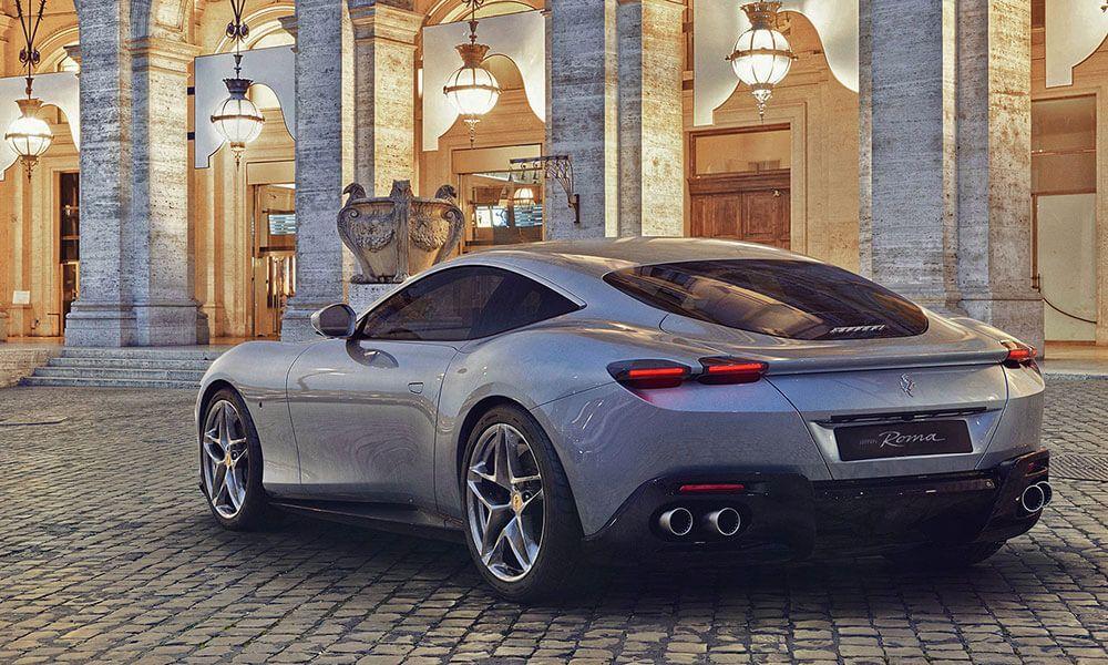 Ferrari Roma автомобиль 2020