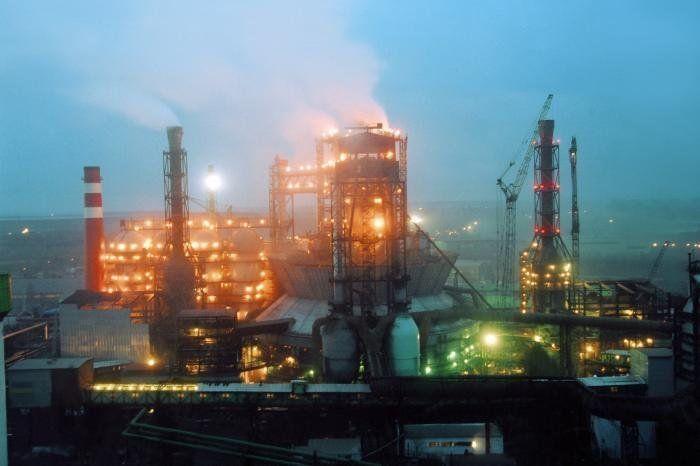 Завод по производству металла