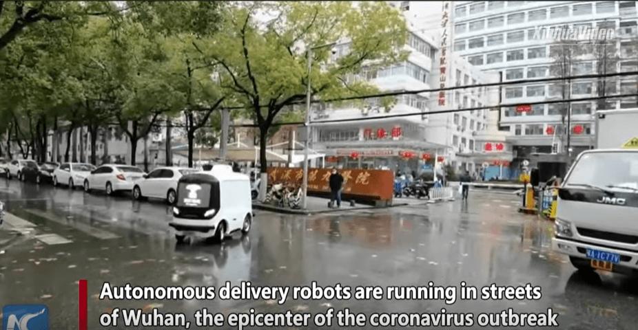 Робот самокат