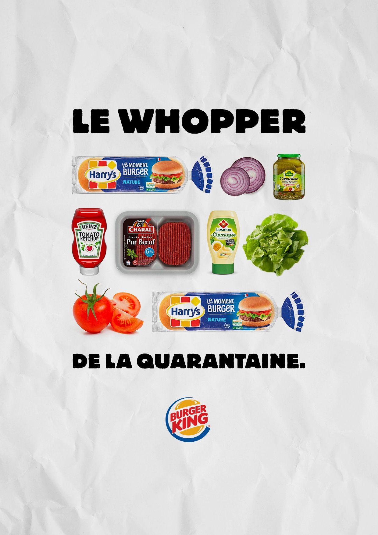 Burger King запустила «Карантинный воппер»