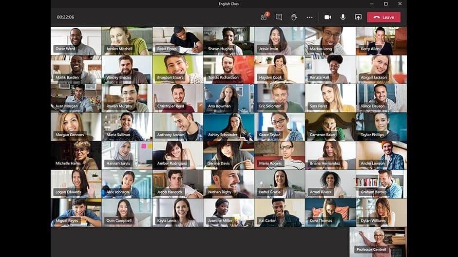 Teams for Education видео конференции