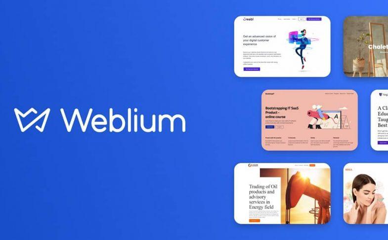 Weblium создание сайта