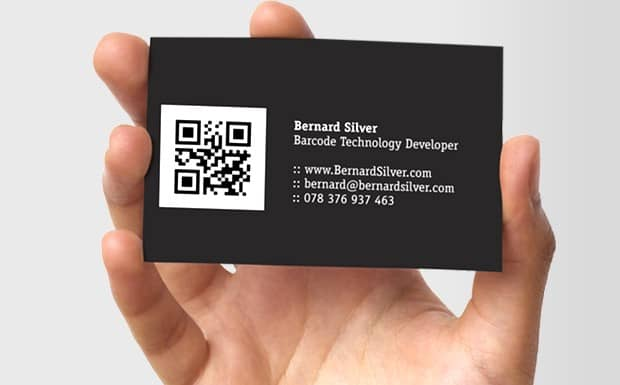 QR код для визиток