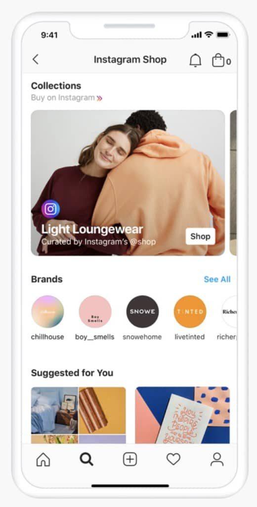 Магазин Instagram