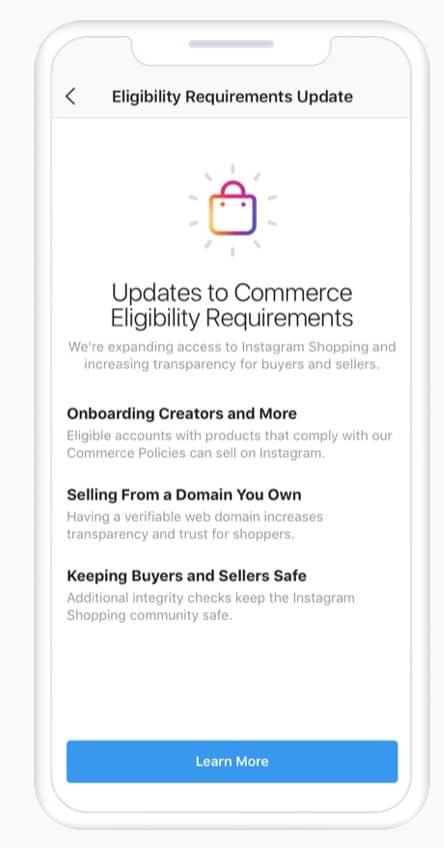 Instagram изменяет правила