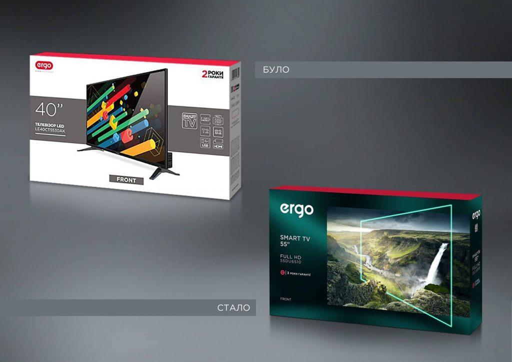 телевізор ERGO