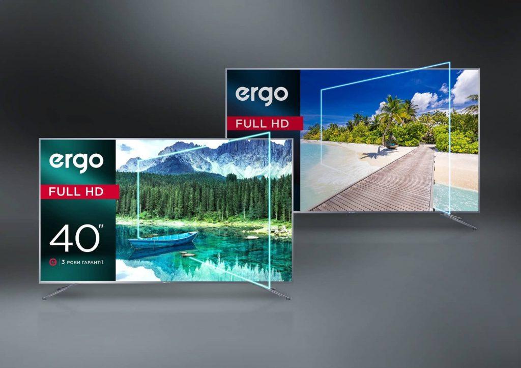 телевізорів ERGO