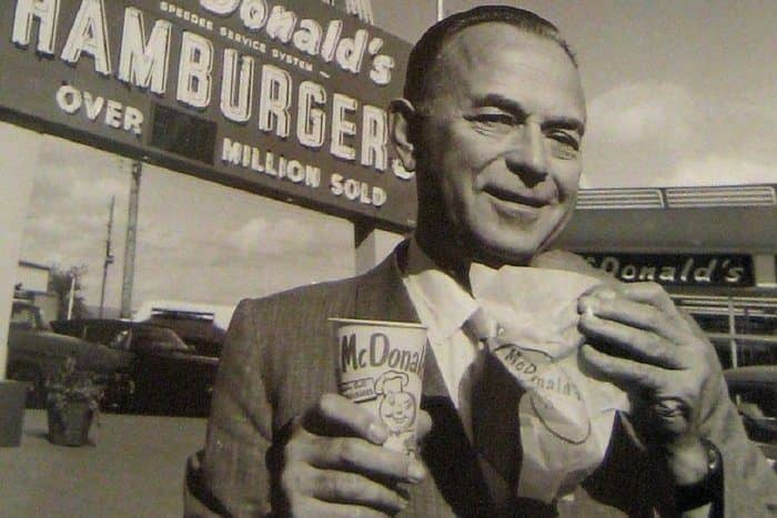 Рей Крок основатель империи McDonald's