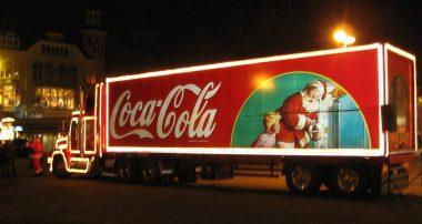 Рождественская реклама кока кола