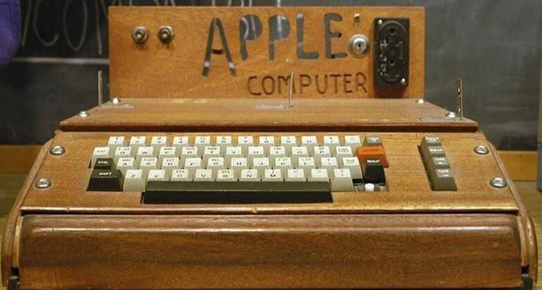 Старый компьютер Apple