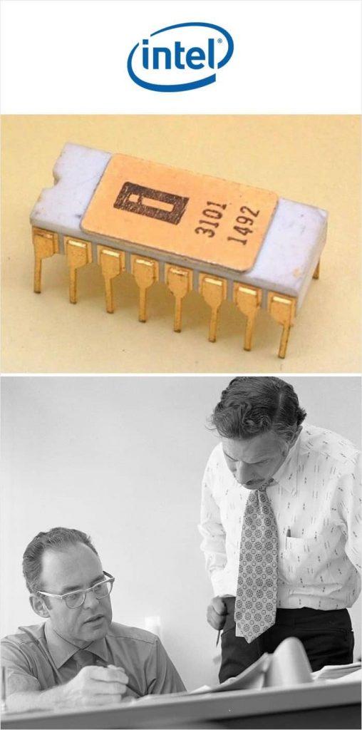 Первый Чип памяти Intel