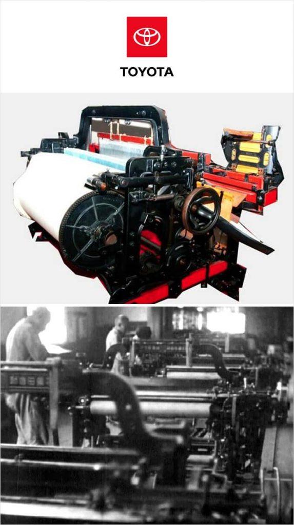 Автоматический ткацкий станок Toyota