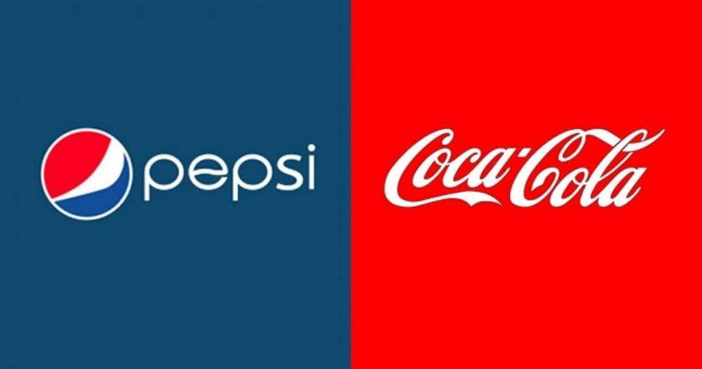 Разработка знаковых лого пепси и кока