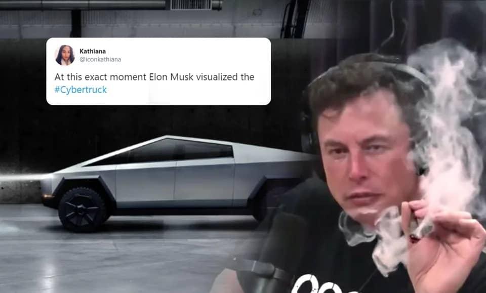 Мемы об Илоне Маске и Tesla множатся в геометрической прогрессии