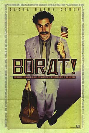 """Борат"", 2004 Студія: 20th Century Fox"