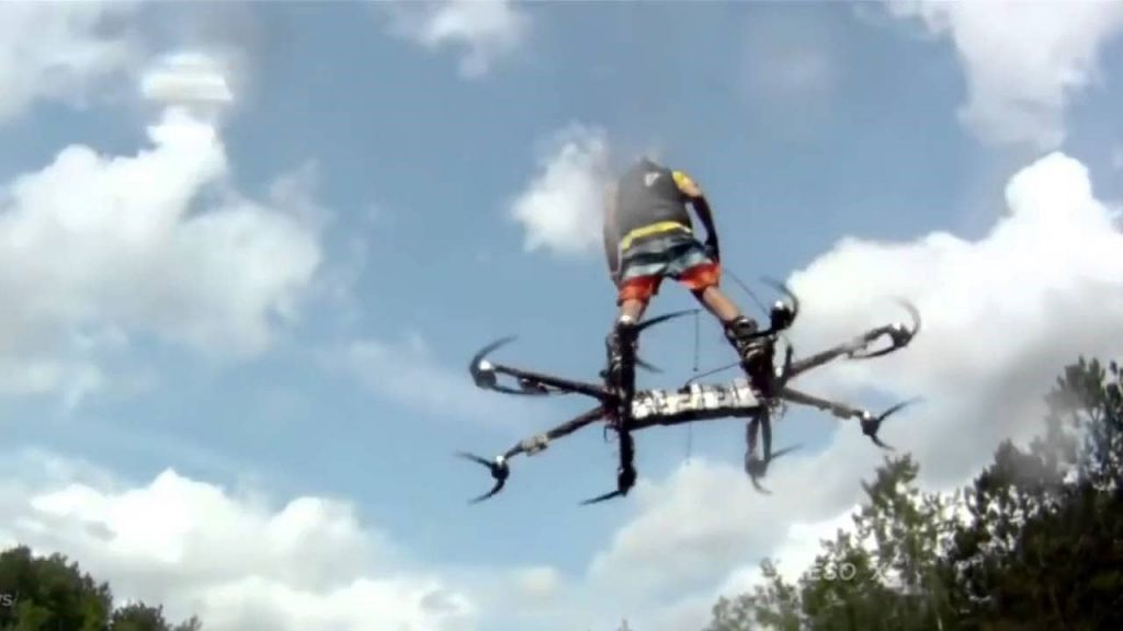Человек дрон