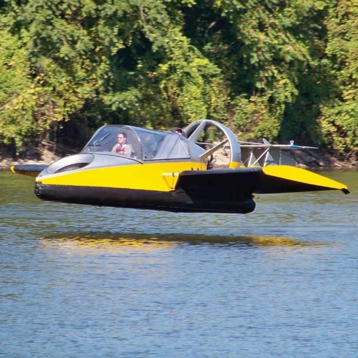 Летающий корабль на воздушной подушке