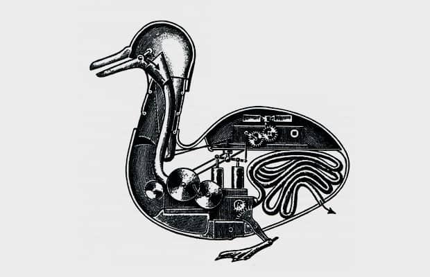 утка робот