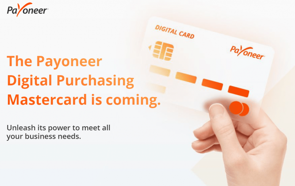 Картка Payoneer Digital Purchasing Mastercard