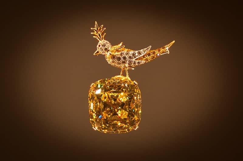 Желтый бриллиант — самый известный в коллекции Tiffany