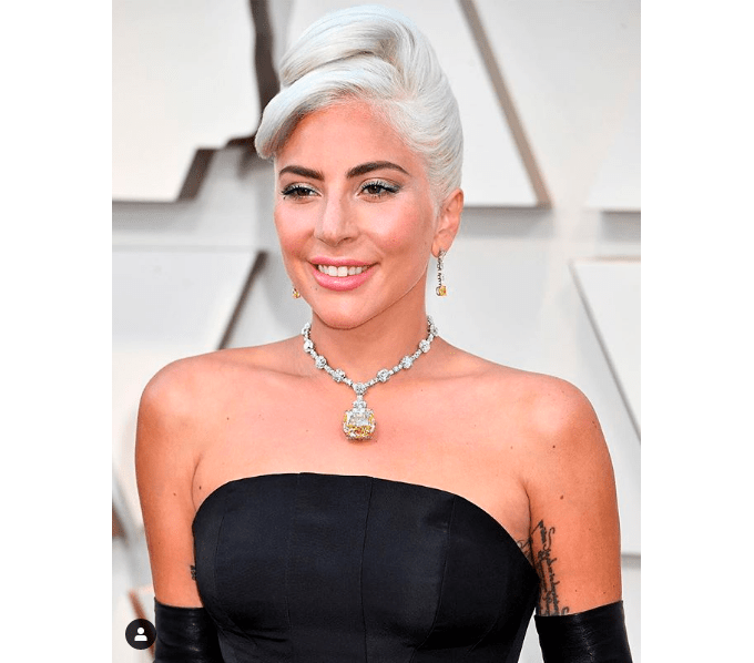 Леди Гага в желтом бриллианте Tiffany вызвала настоящий фурор