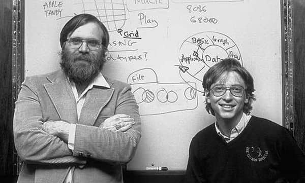 Основатели компании Майкрософт