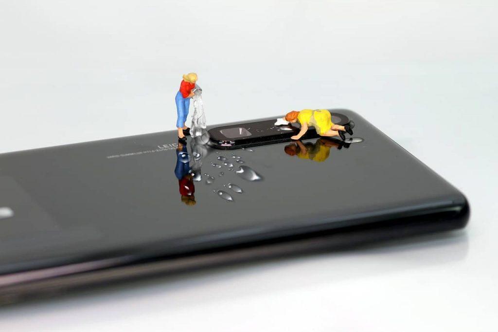 Чистка телефона