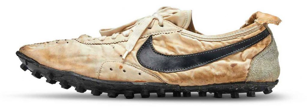 Подошва Nike Moon Shoes родилась благодаря вафельнице