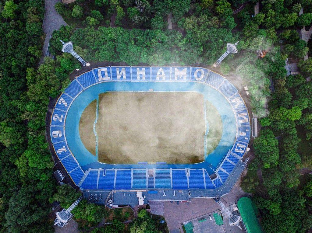 Спалені стадіони