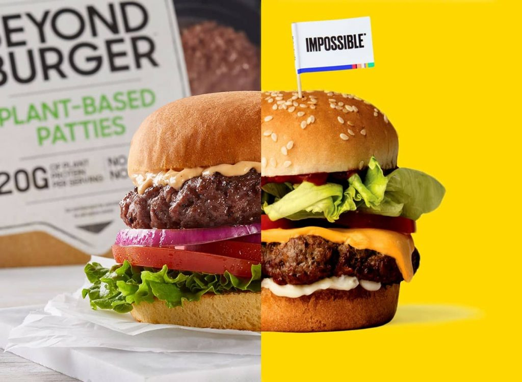 Beyond Meat и Impossible Foods