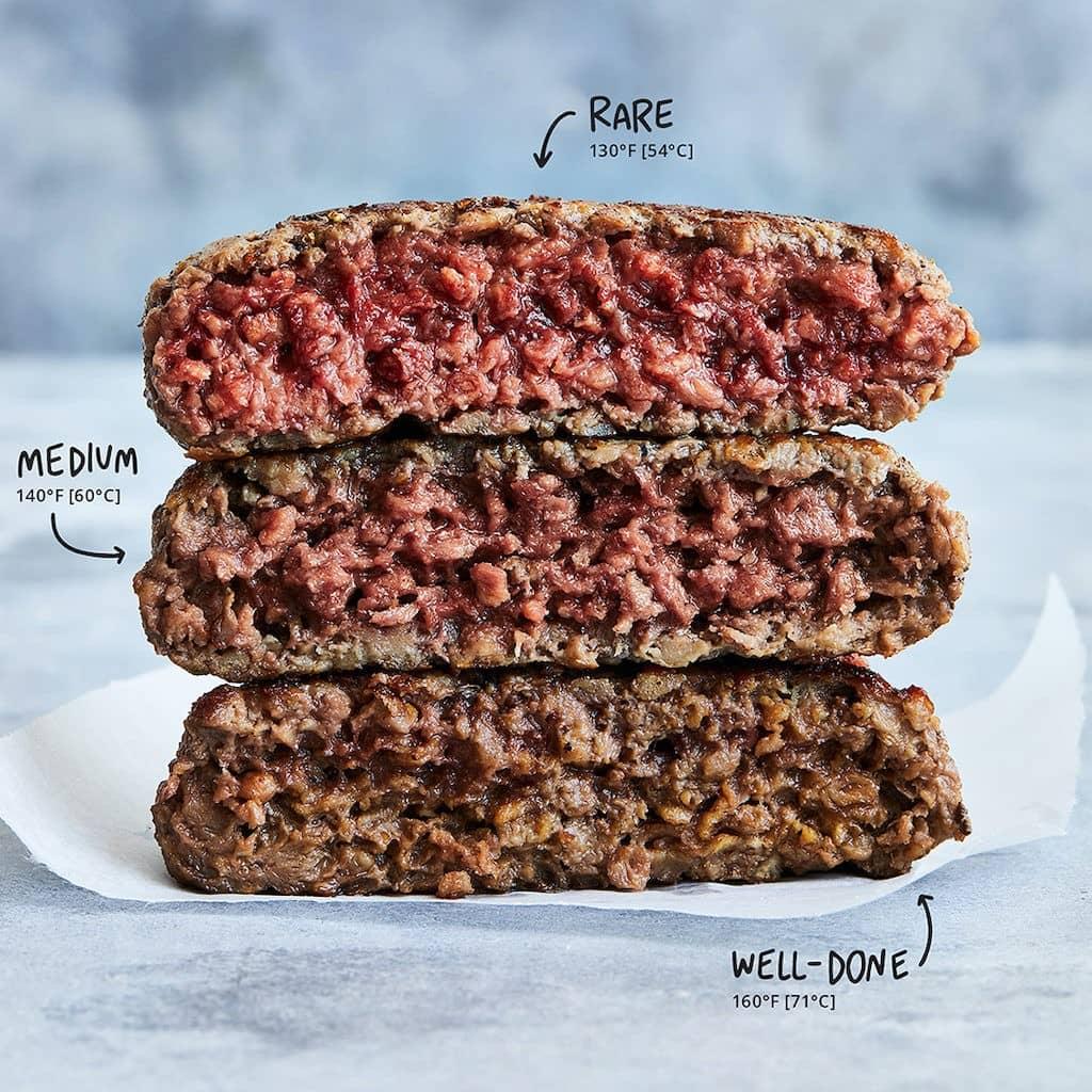 Реалистичность стейка из «искусственного» мяса впечатляющая...